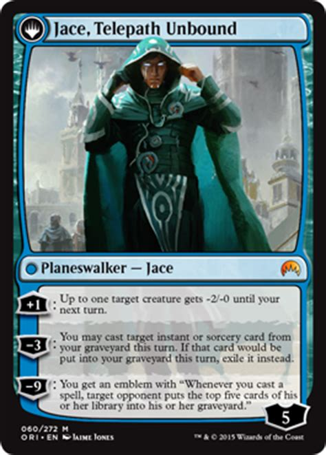 mtg jace illusion deck jace s origin absent minds magic the gathering