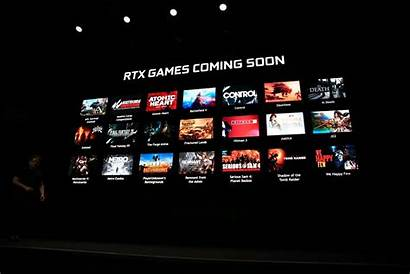 Rtx Nvidia Games Ray Geforce Tracing Dlss