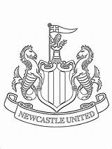Newcastle United Coloring West Ham Football Pages Colouring Nufc Club Team Printable Emblem English Players Those Enjoy 1coloring sketch template