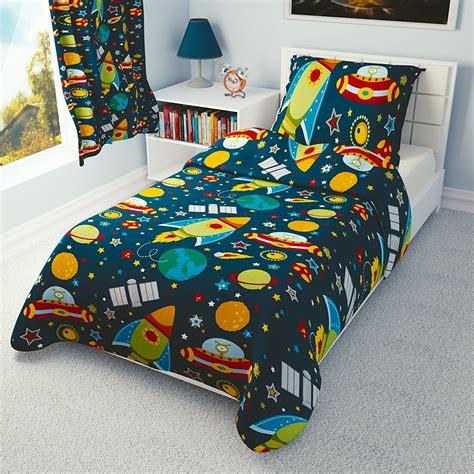 Kinderzimmer Junge Weltraum by Werbung Kinder Bettbezug Und Kissenbez 252 Ge Kinderbett
