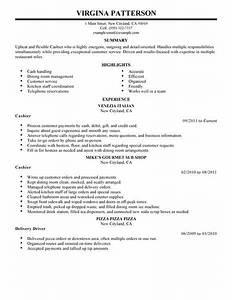 best restaurant cashier resume example livecareer With cashier resume examples