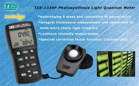 TES 1339P Photosynthesis Light Quantum Meter (Measurement