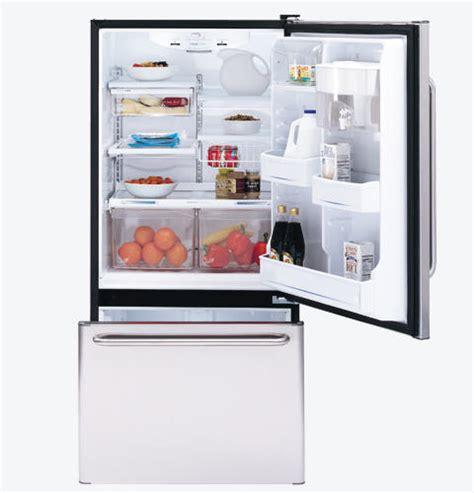 ge profile  cu ft bottom freezer drawer refrigerator pdssbmrbs ge appliances