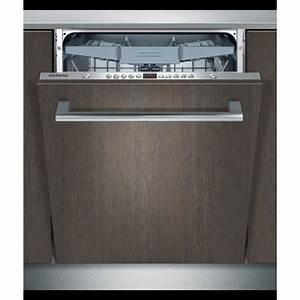 Lave Vaisselle Encastrable Pas Cher : lave vaisselle encastrables siemens achat vente pas ~ Dailycaller-alerts.com Idées de Décoration