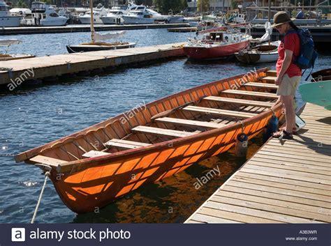Umiak Boat umiak boat made from oak cedar and douglas fir center for