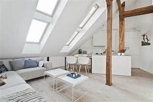 Appartement Sous Comble : appartements ~ Dallasstarsshop.com Idées de Décoration