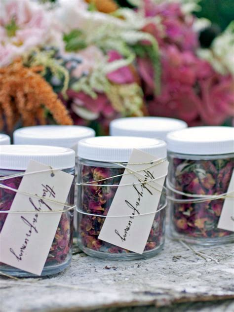 Wedding Favors by Diy Wedding Favors Hgtv