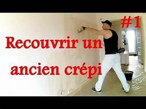 lisser un mur crepi 1 3 youtube With repeindre un mur crepi interieur