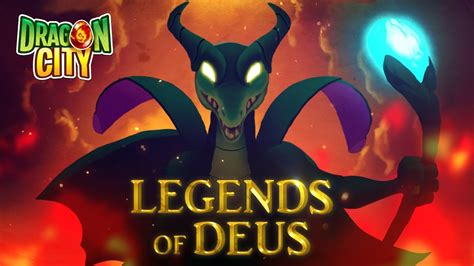The Legend Of Deus  Official Trailer  Dragon City  # Doovi