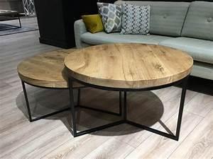 Couch Tisch Eiche : couchtisch eiche massiv stahlgestell pickupm ~ Whattoseeinmadrid.com Haus und Dekorationen