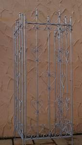 Rankgitter Metall 200 Cm : metall eisen rankgitter spalier rankzaun savona feuerverzinkt kletterrose gartengestaltung ~ Bigdaddyawards.com Haus und Dekorationen