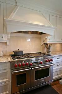 Custom range hood eclectic kitchen by interior works inc for Custom kitchen range hood