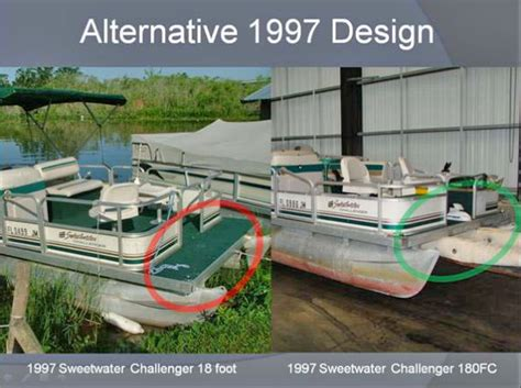 Used Pontoon Boats Without Motor by Preventing Pontoon Boat The Bow Propeller Accidents
