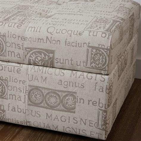 script chair canada burgos script fabric storage ottoman great deal