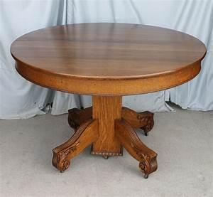 Bargain, John, U0026, 39, S, Antiques, U00bb, Blog, Archive, Antique, Round, Oak, Dining, Table