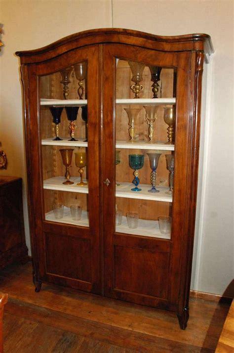 libreria a vetrina vetrina libreria credenza antica e vetrina antica
