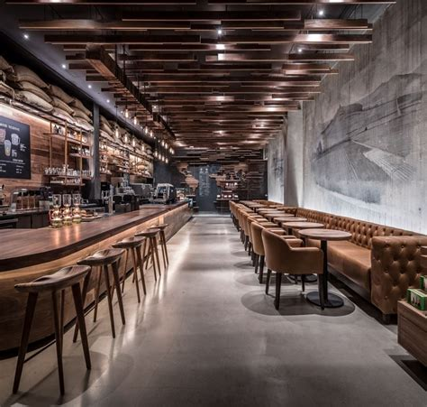 The 18 chicest coffee shops in new york city. Starbucks Reserve Coffee Takes Center Stage in New York | Coffee shop interior design, Coffee ...