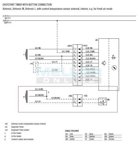 eberspacher easystart  day timer  night heater