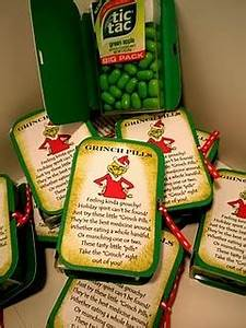 Awesome Tattoo Pics Grinch Pills using green tic tacs