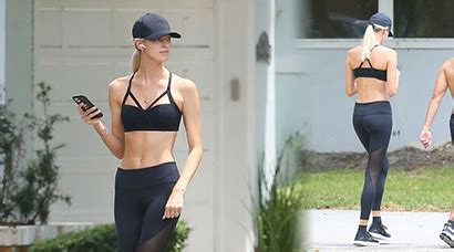 Devon Windsor and Jonathan Barbara Work Out Together in Miami