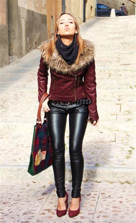 women leather pants trend   season   fashion design