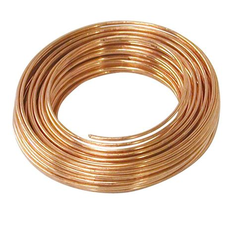 what to clean copper with ook 22 gauge copper hobby wire 75 ft 1 roll 50163 the
