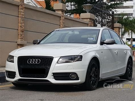 2011 Audi A4 by Audi A4 2011 Tfsi 1 8 In Penang Automatic Sedan White For