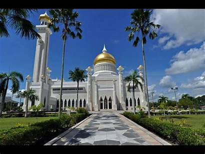 Brunei Seri Bandar Mosque Begawan Omar Ali