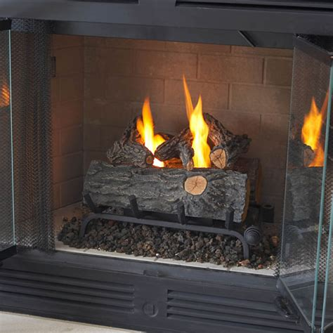 real flame gel  oak log set