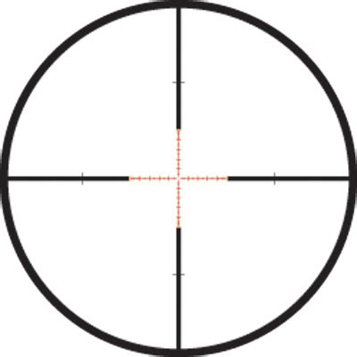 Shooting With Moa Turrets And A Mil Reticle  The Black Rifle