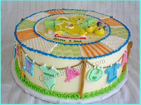 baby shower cakes at walmart cakes by anitha baby clothes baby shower cake