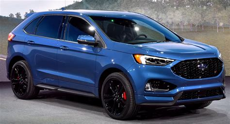 2019 Ford Edge ST Brings A Class-Leading Twin-Turbo V6 To ...