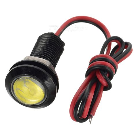 3w 140lm 6000k white 1 led eagle eye light dc 12v free