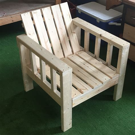 ana white simple outdoor lounge chair modification diy projects