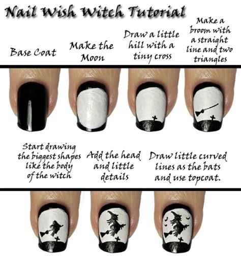 witch nail design diy alldaychic
