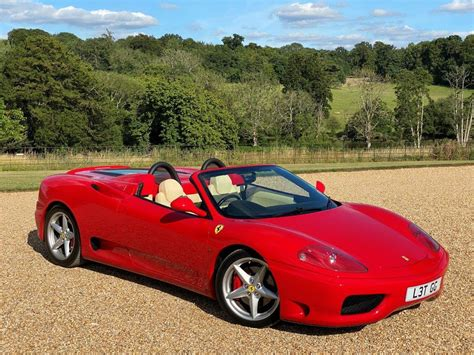 2001 ferrari 360 modena (manual) chassis#: 2001 Ferrari 360 F1 Spider | Challenge Grilles | PPF For Sale | Car And Classic