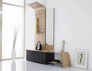 Banc Porte Manteau : meuble d 39 entr e moderne pour la bonne premi re impression ~ Teatrodelosmanantiales.com Idées de Décoration