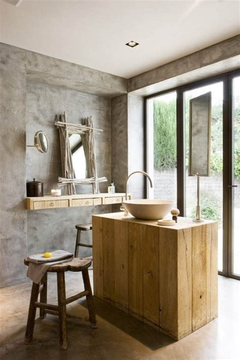20 Rustic Modern Bathroom Design Ideas  Furniture & Home