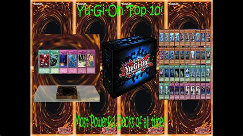 Yugioh Top 10 Most Powerful Decks Of All Time!! Youtube