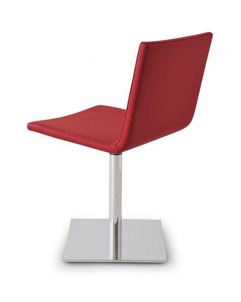 sieges design chaise pivotante en éco cuir vente en ligne italy
