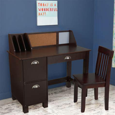 espresso desk with drawers study desk with drawers espresso by kidkraft
