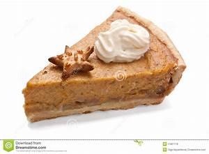 Slice of Pumpkin pie stock image. Image of slice, meal ...