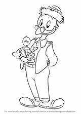 Ducktales Gyro Draw Gearloose Drawing Gyroscope Coloring Pages Step Cartoon Template Sketch Templates sketch template