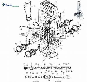 Pentair Letro Legend Platinum Ll105pm Cleaner Parts
