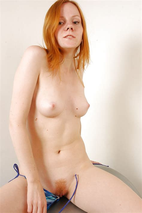 Filthy Redhead Teen Babe In Bikini Romy B Stripping And Posing Nude