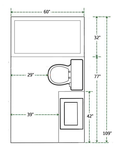 Bathroom Floor Plan Design Tool by Floor Plan And Measurements Of Small Bathroom Add A