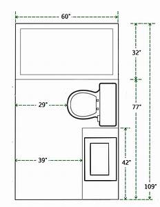Floor Plan And Measurements Of Small Bathroom  Add A