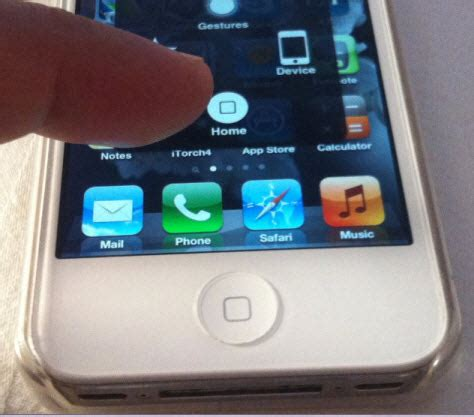 iphone 5c home button not working the assistive touch quot soft quot on screen home button for