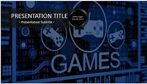 free video games powerpoint 31159 sagefox powerpoint With video game powerpoint template