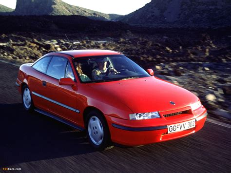Opel Calibra by Opel Calibra 2 0i 16v 1990 97 Pictures 1280x960